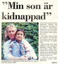 My son is kidnapped !